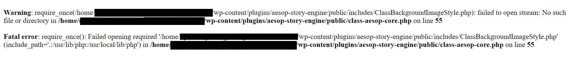 Error page image