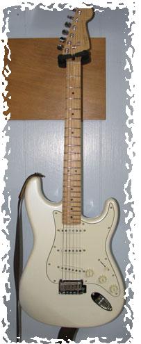 squier deluxe guitar